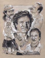 Robin Williams Tribute sketch by MarkButtonDesign