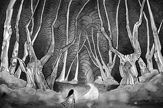 Ink Forest by pseudozufall