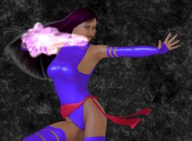 X-Men: Children of the Atom - Psylocke by Tygerlander