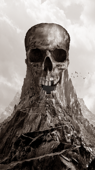 Skull Mountain by Globoxforever