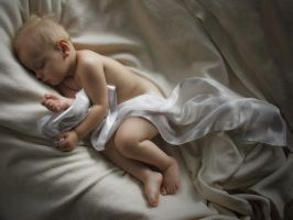 cherub in softness by Serreth
