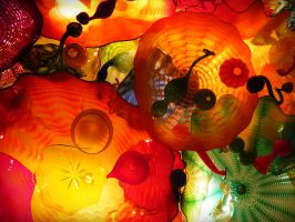 Chihuly Glass Ceiling I by evelynrosalia
