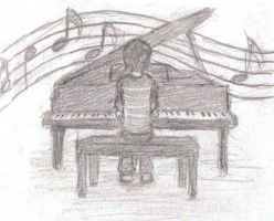 .:piano man:. by little-ampharos