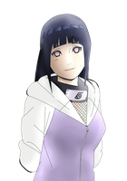 Hinata Colored Linework by Orichin
