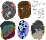 Vet Emergency Mass Effect Adopts now 10 GBP each by Silent-Black-Sky45
