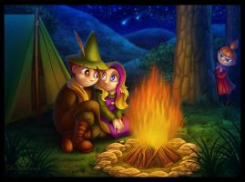 Not so Secret Camping by DolphyDolphiana