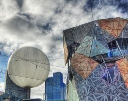 Federation Square by DanielleMiner