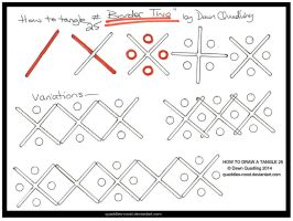 How to Tangle 25 Border Two quaddles-roost by Quaddles-Roost