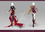 (CLOSED) Adoptable Outfit Auction 107-108 by Risoluce