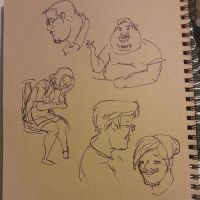 cafe sketches by 24movements