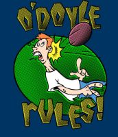 o'doyle rules at dodgeball by gimetzco