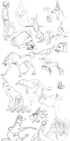 Sketch dump pt2 by Zaelithe