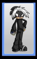 Dark Masami Hedgehog by cartoonfan22