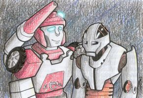 Redalert and Voice by Underbase