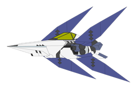 Arwing Valkyrie Fighter Base Color by MasterChiefFox