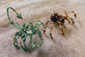 Spider and Scorpion... by KALwolf