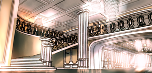 Mansion Yuumei inspired background practice by codeobsidian