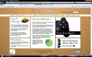 5 A Day What Counts Page by Gav229