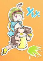 YoYo - Jet Set Radio Future by PokeTrainer-Ashlex