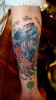 ghost ship in progress by seanspoison