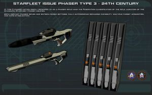 Phaser Rifle [24th Century] Tech Readout [new] by unusualsuspex
