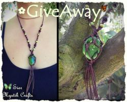 Macrame Necklace Giveaway by SierDreamS