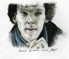 Sherlock again by bulo4ka