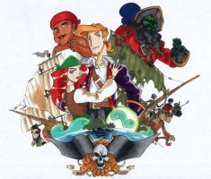 Legend of Monkey Island by G1d4n