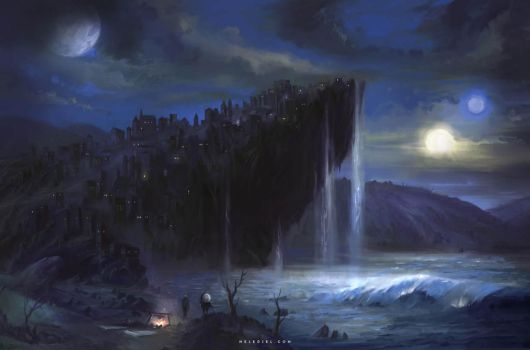 Cliff City by Nele-Diel