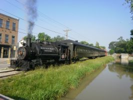 Steam Along the Canal by railguy365