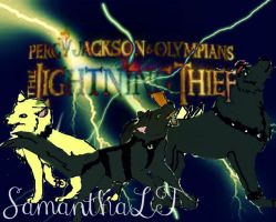 Percy Jackson And The Olympians! Lightning Theif by thebestestwolfluver