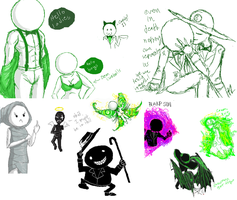 Homestuck iscribble mini-dunp by Fury-From-Above