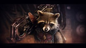 Rocket Raccoon wallpaper (7) by BiigM