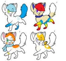 Adoptables (Closed) by FlameFoxYOLO