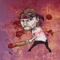 DSC 10 15 12 - Shaun of the Dead color by DouggieDoo