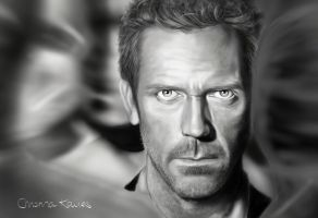 Hugh Laurie by CandyMilla