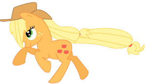 AppleJack Gallop by xRainbowSugar