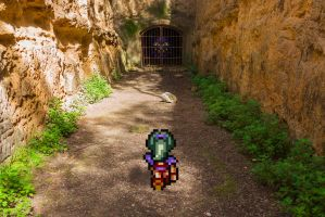 Real Bits - Final Fantasy VI: Forest Dungeon by VictorSauron