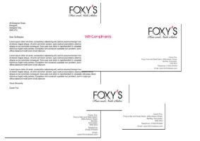 Foxy's Stationery by NineteenPSG