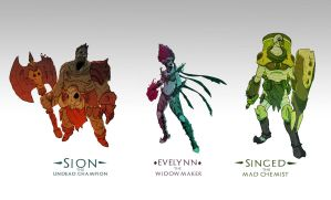 Visual upgrades concepts by mister-crab