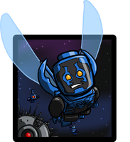 Lego Blue Beetle by Catanas192