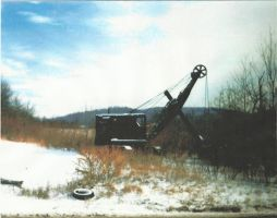 Steam Shovel by master-ninjabear