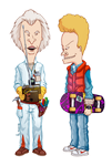 Beavis and Butt-head Do Back to the Future by muse118