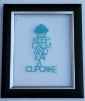 Keep calm papercut by ladysilver2267