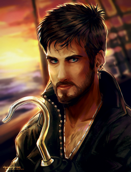 Killian Jones by AgentWhiteHawk