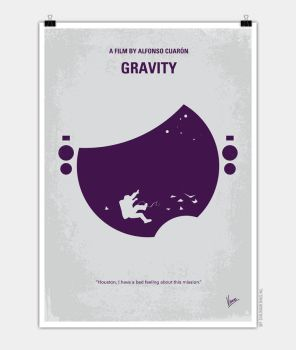 No269 My Gravity minimal movie poster by Chungkong