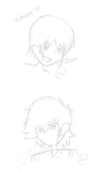 Iran And Iraq Sketches by Queen-Spade