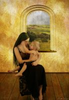 A Tender Moment by Lindalees