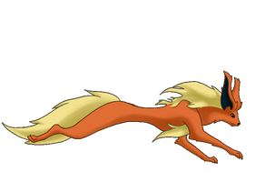 Flareon Run Cycle by BlakkFox