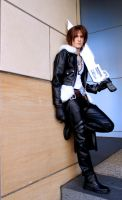Hot Rods- Squall Final Fantasy Cosplay by Detailed-Illusion